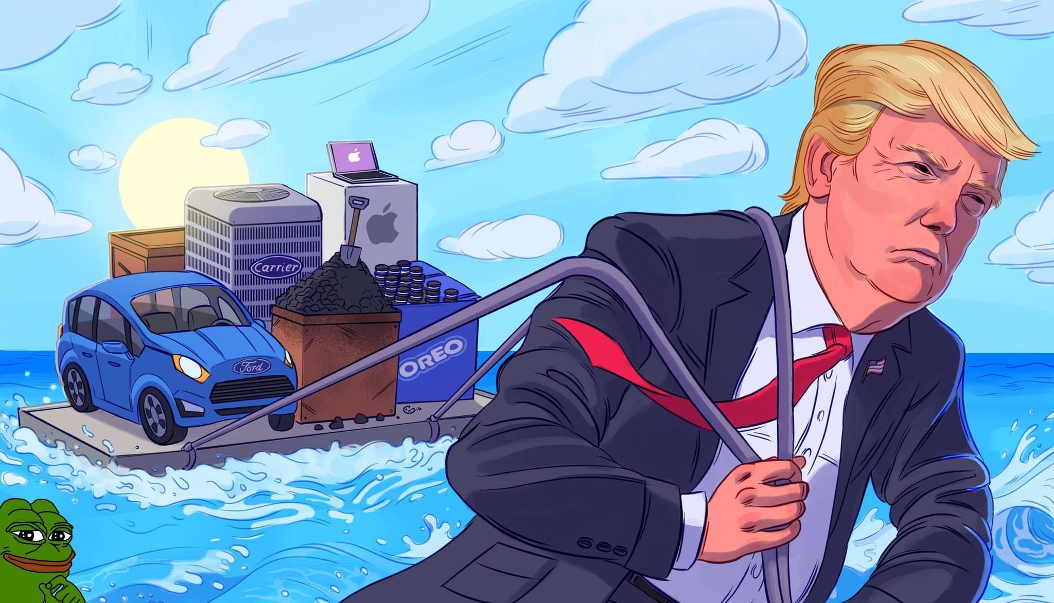 Donald Trump HD Wallpaper   Background Image   2048x1173 ...
