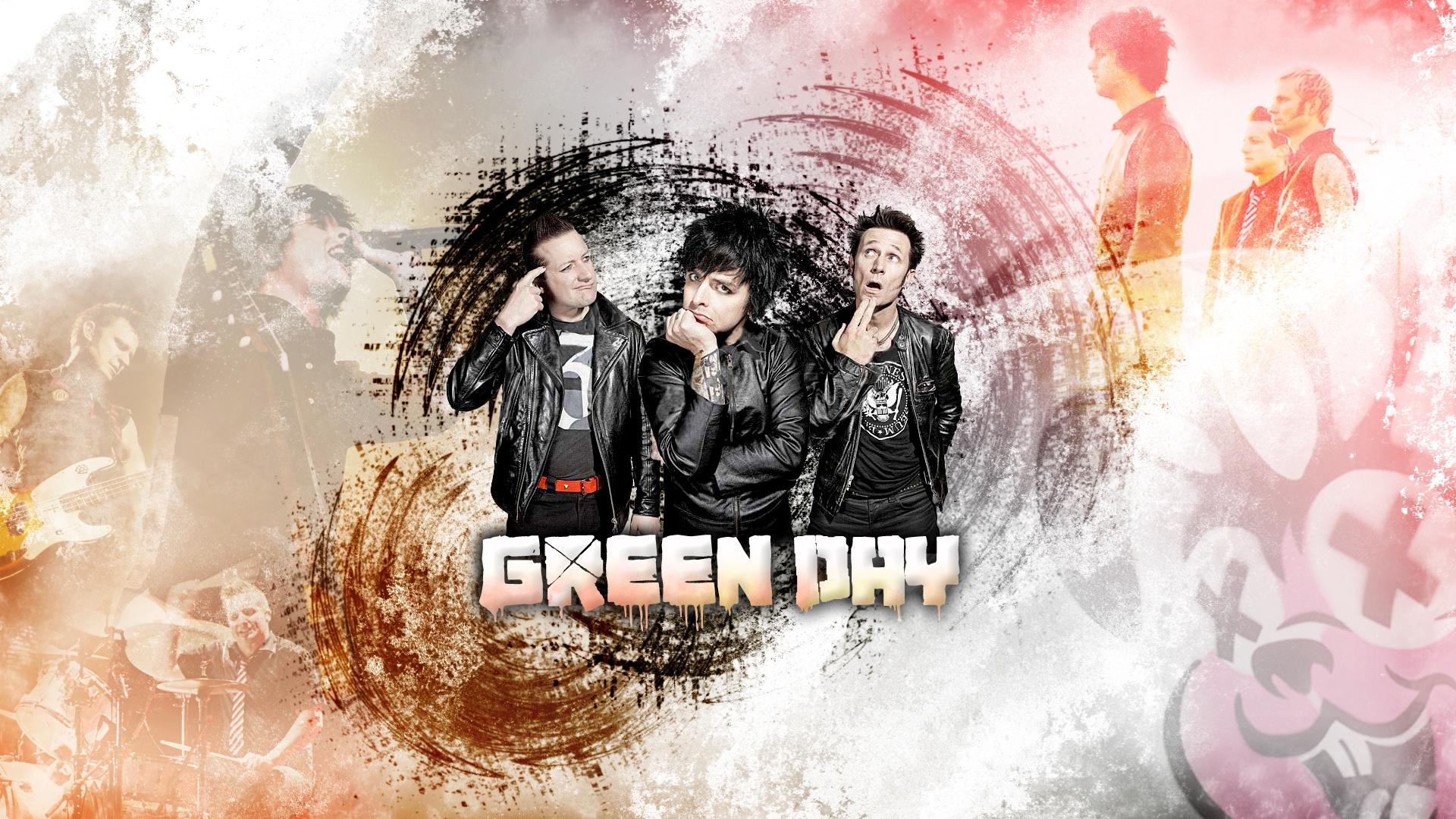 Green Day Hd Wallpaper Hintergrund 1920x1080 Id 708430