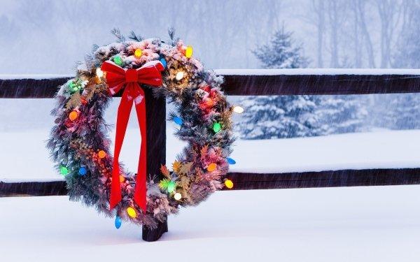 Día festivo Navidad Cerca Invierno Snow Christmas Ornaments Fondo de pantalla HD | Fondo de Escritorio