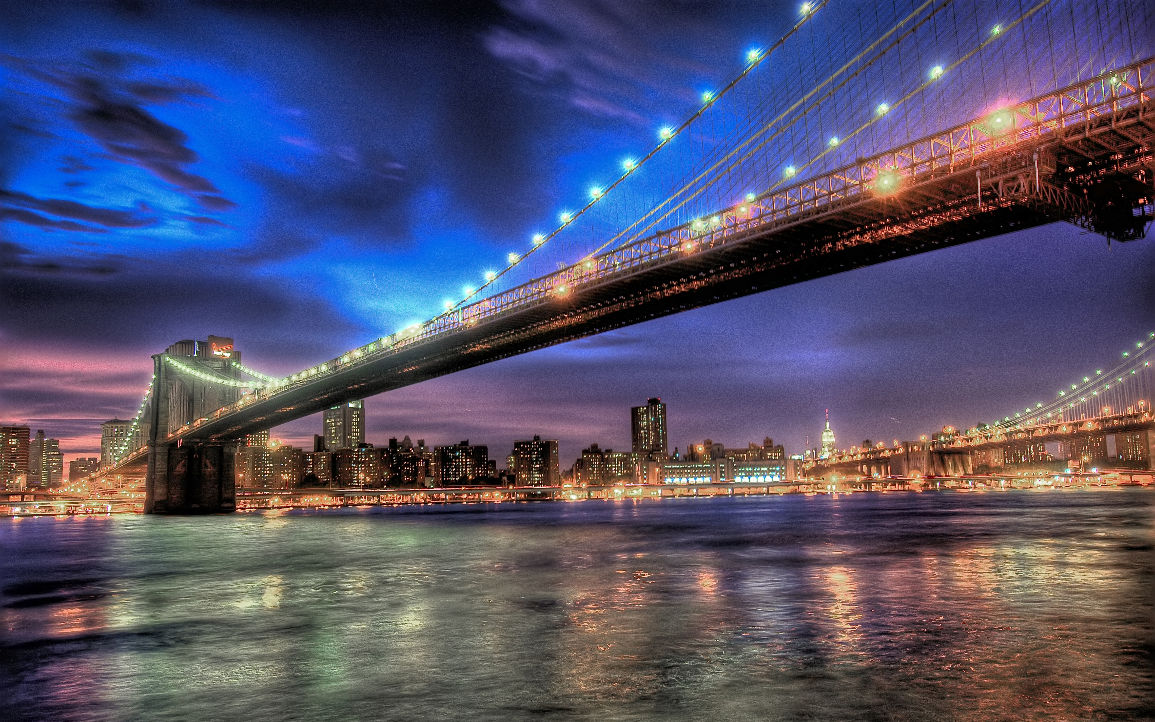 Brooklyn bridge 4k ultra hd wallpaper background image - Bridge wallpaper hd ...