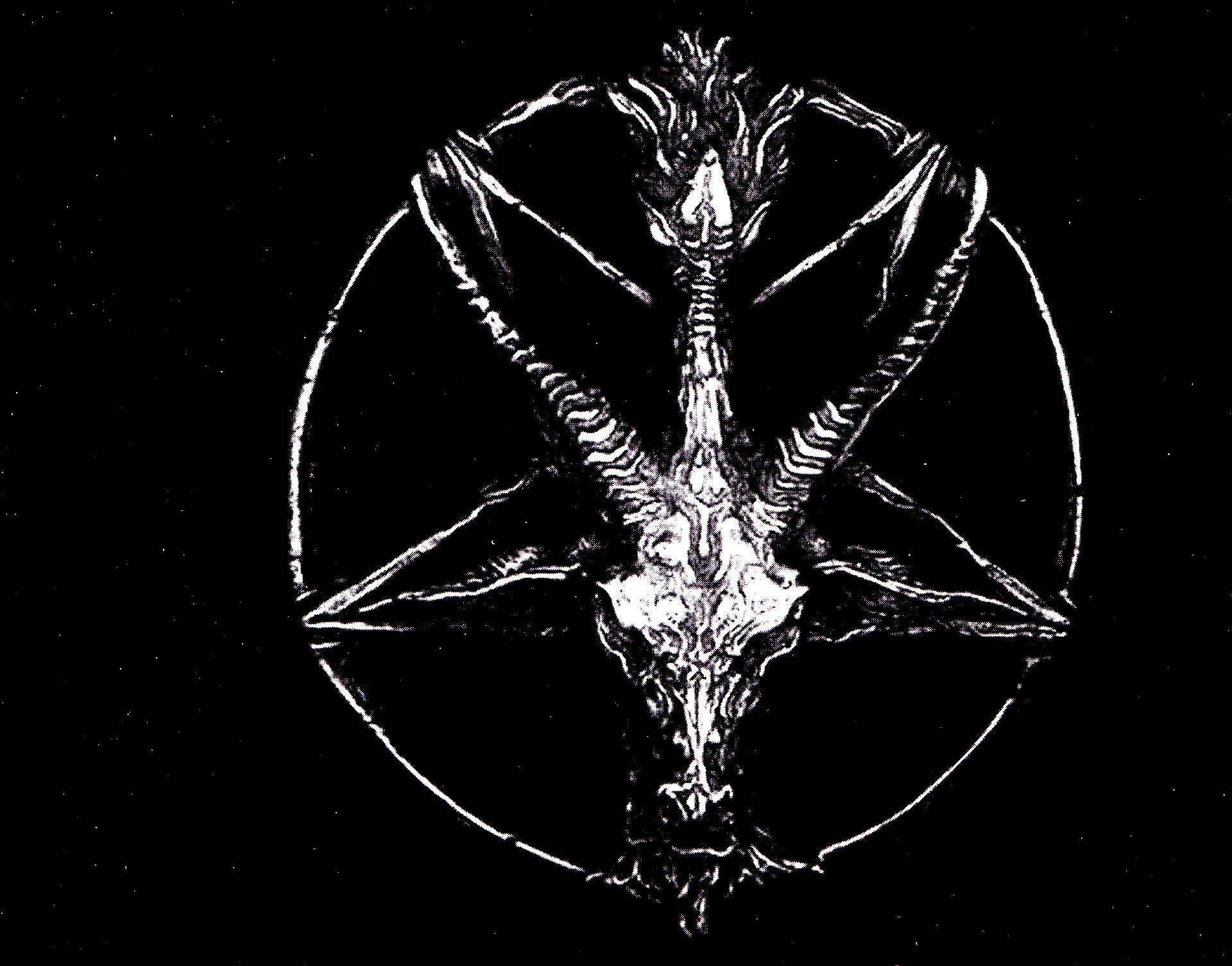dark occult evil dark pentagram wallpaper