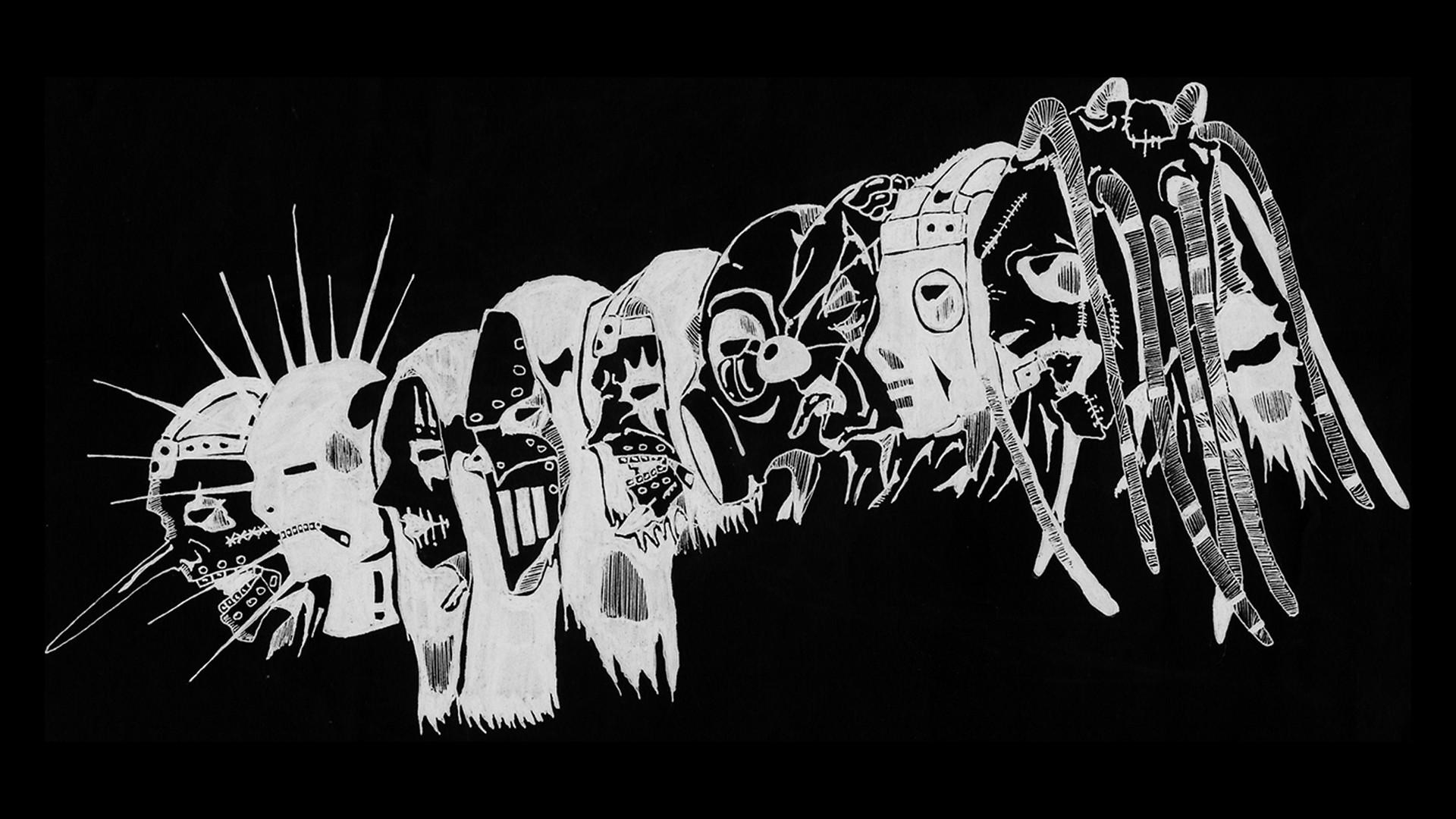 Slipknot full hd wallpaper and background image 1920x1080 id music slipknot dark heavy metal industrial metal nu metal wallpaper voltagebd Image collections
