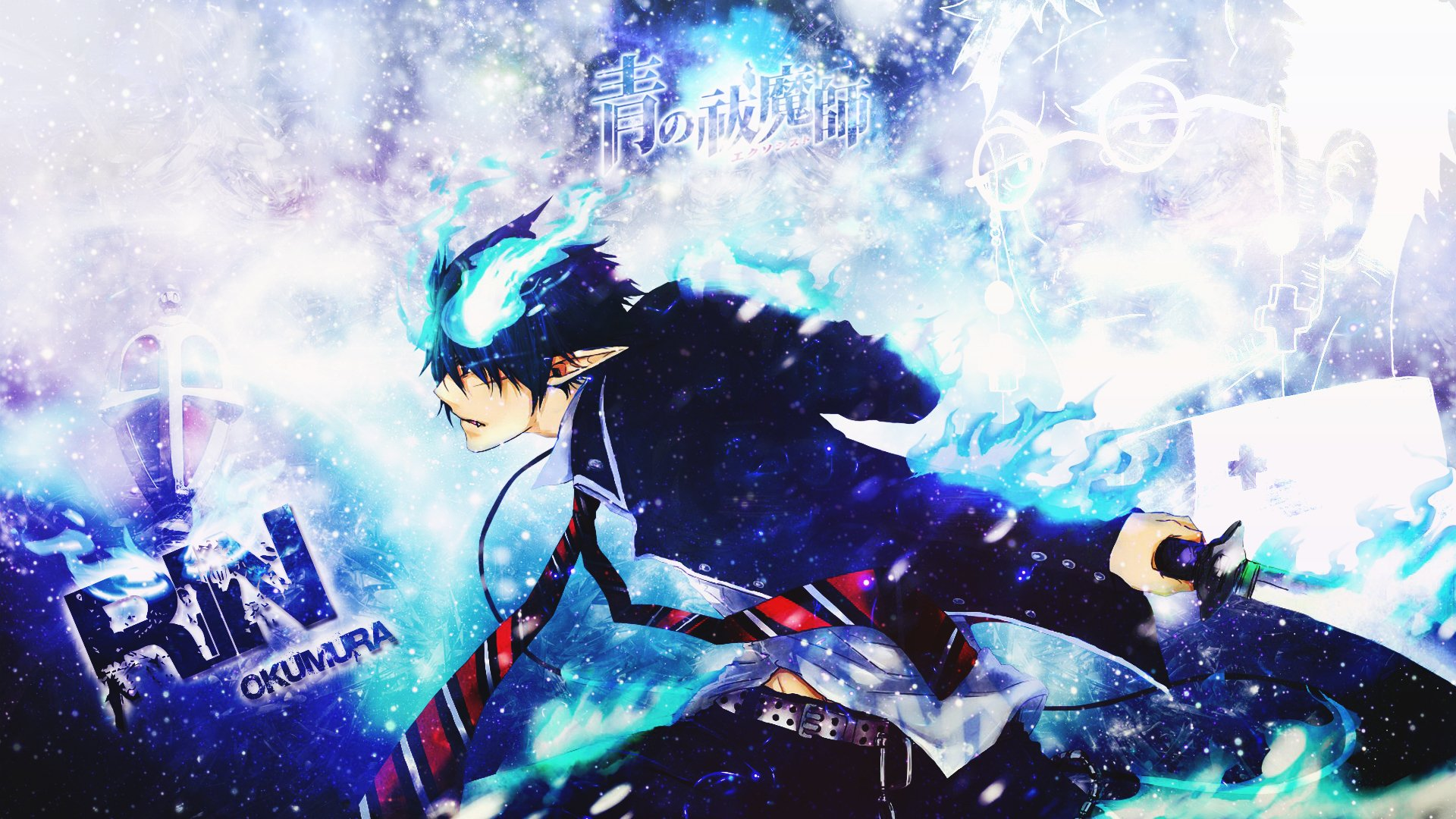 Blue Exorcist Full HD Wallpaper And Background Image
