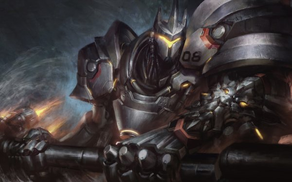Video Game Overwatch Reinhardt HD Wallpaper | Background Image