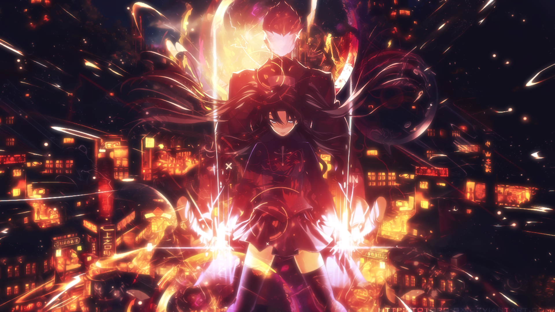 Fate/Stay Night: Unlimited Blade Works HD Wallpaper