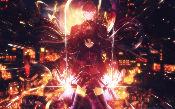 Anime Fate/Stay Night: Unlimited Blade Works Fate Series Rin Tohsaka Archer HD Wallpaper | Background Image