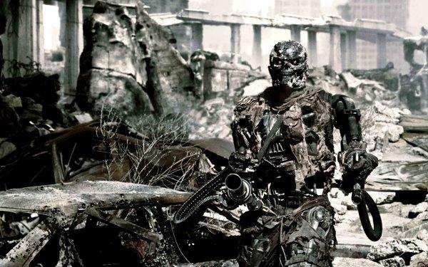 Movie Terminator Salvation Terminator Endoskeleton HD Wallpaper | Background Image