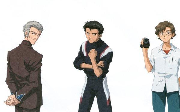 Anime Neon Genesis Evangelion Evangelion Kensuke Aida Kōzō Fuyutsuki Hikari Horaki Toji Suzuhara HD Wallpaper   Background Image