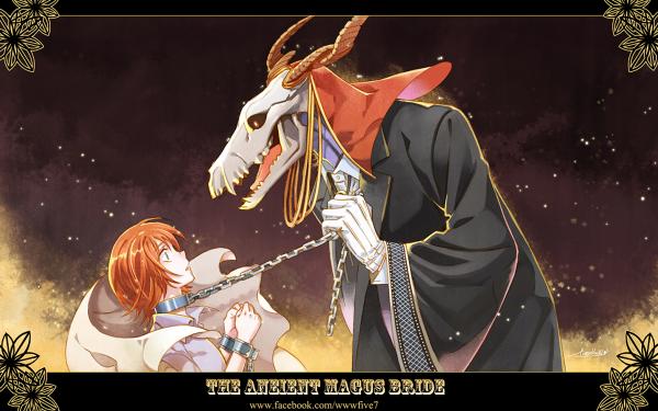 Anime The Ancient Magus' Bride Chise Hatori Elias Ainsworth Mahoutsukai no Yome HD Wallpaper | Background Image
