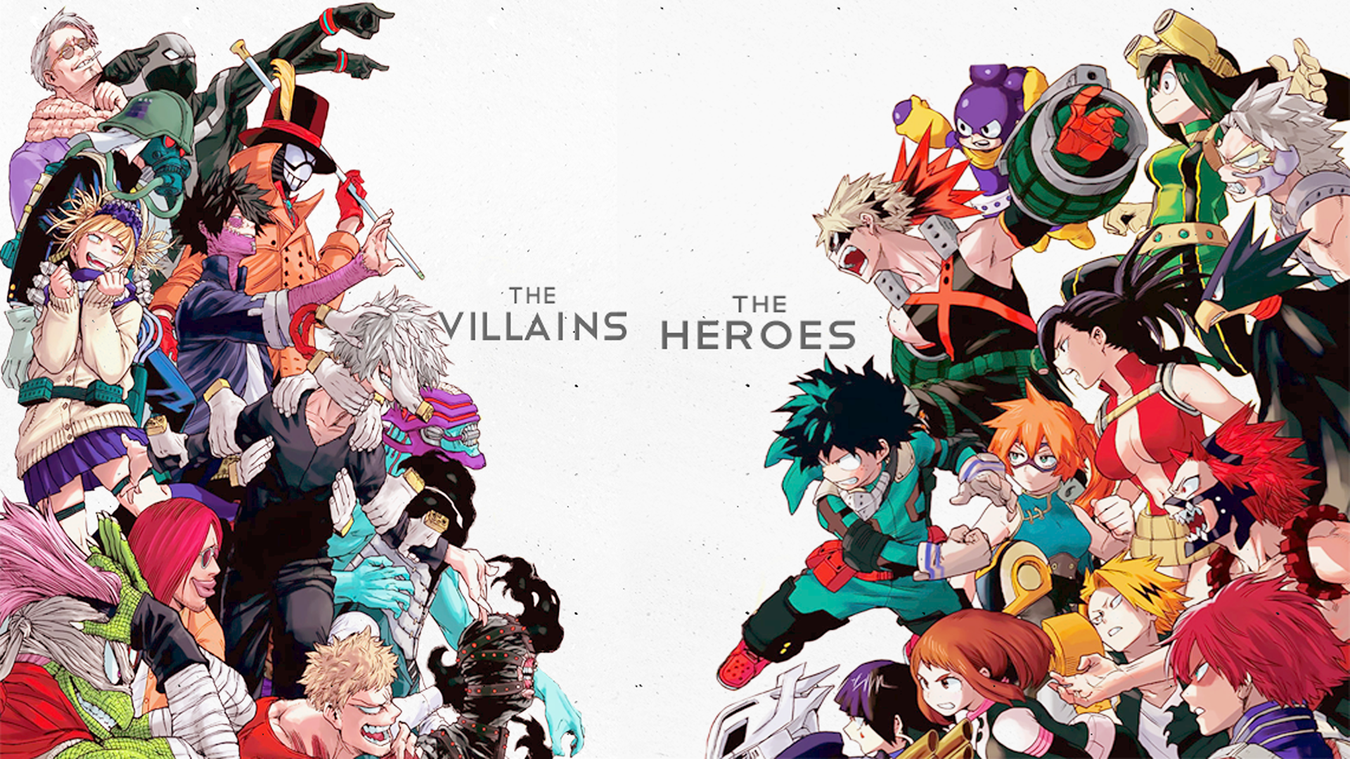 The Villains Vs The Heroes Hd Duvar Kagidi Arka Plan X Id Wallpaper Abyss
