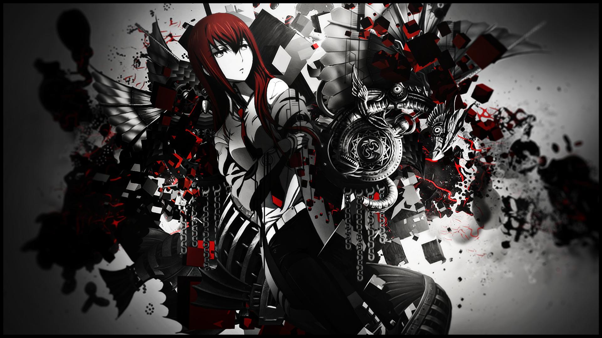 Makise Kurisu Hd Wallpaper Background Image 1920x1080