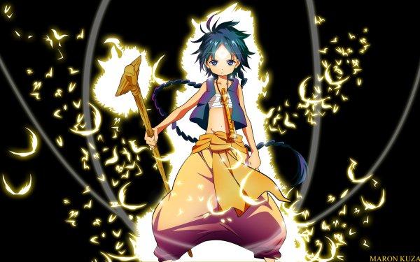 Anime Magi: The Labyrinth Of Magic Aladdin HD Wallpaper | Background Image