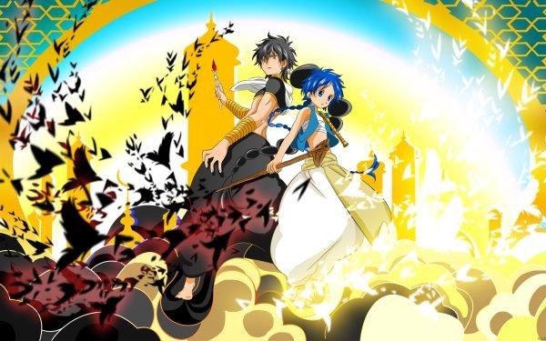 Anime Magi: The Labyrinth Of Magic Judar Aladdin HD Wallpaper | Background Image