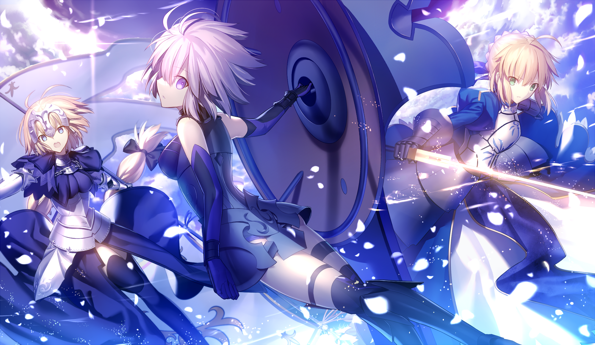 Fate Grand Order Hd Wallpaper Background Image 2000x1160 Id