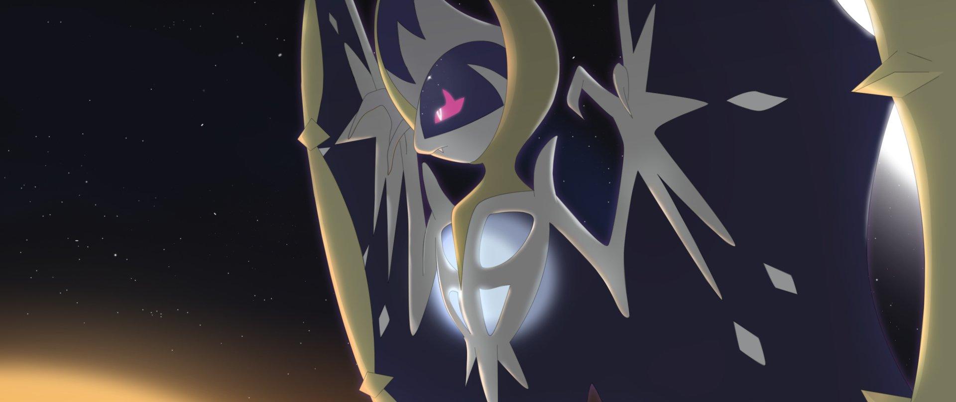 Video Game - Pokémon: Sun and Moon  Lunala (Pokémon) Pokémon Pokémon Sun And Moon Pokémon Moon Wallpaper