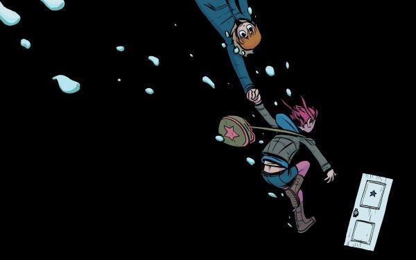 Comics Scott Pilgrim Ramona Flowers HD Wallpaper | Background Image