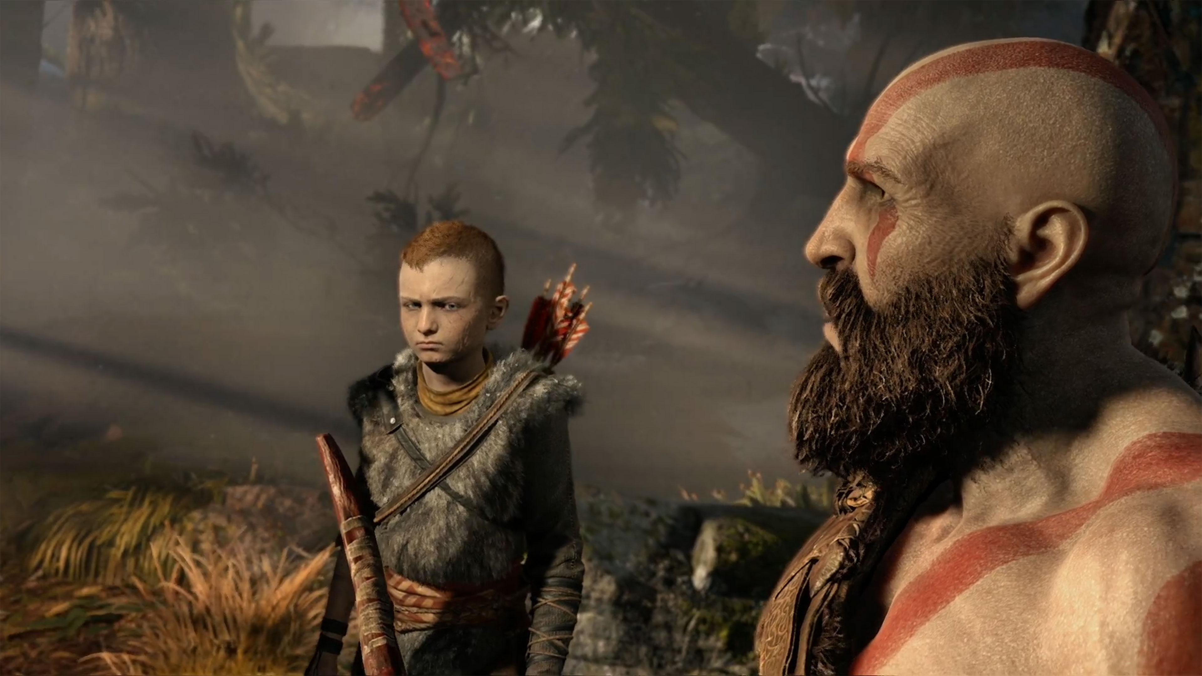 god of war (2018) 4k ultra hd wallpaper and background image