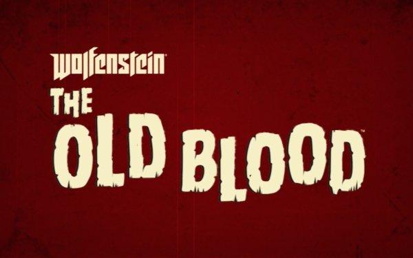 Video Game Wolfenstein: The Old Blood Logo HD Wallpaper | Background Image