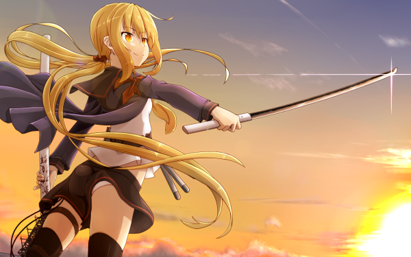 Anime Kantai Collection Satsuki HD Wallpaper   Background Image