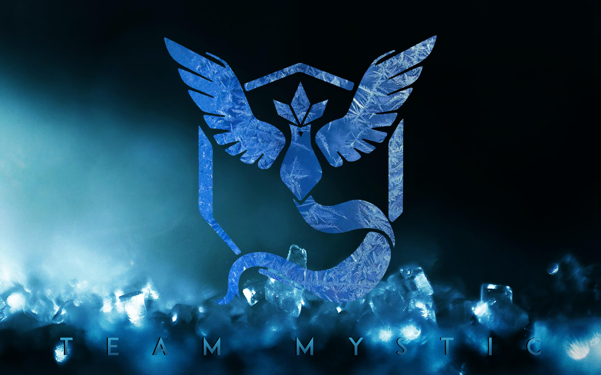 Video Game - Pokémon GO  Pokemon Go Team Mystic Wallpaper