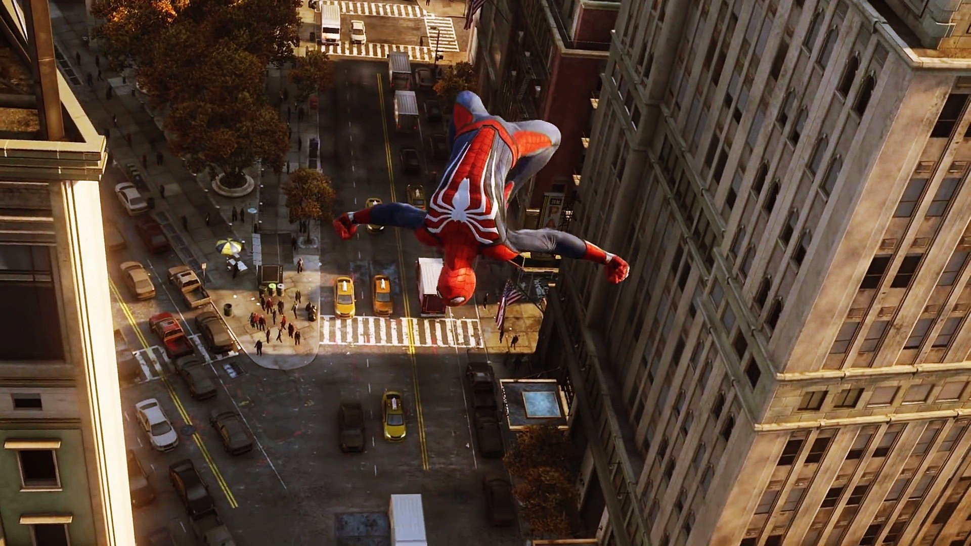 Game Of Spider Man Hd Wallpaper: Spider-Man (PS4) HD Wallpaper