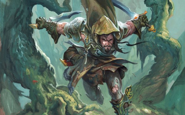 Game Magic: The Gathering Warrior Sword HD Wallpaper   Background Image