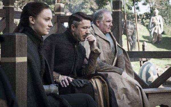 TV Show Game Of Thrones Sansa Stark Sophie Turner Petyr Baelish Aidan Gillen HD Wallpaper | Background Image