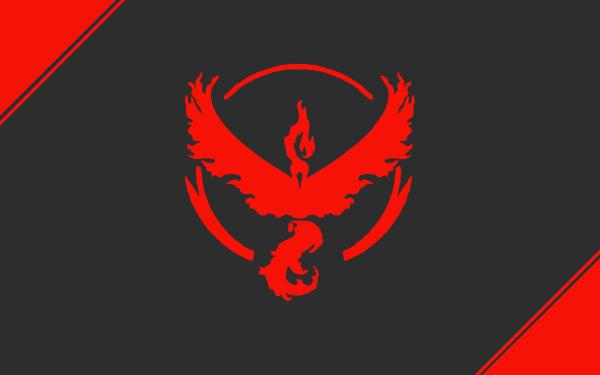 Videojuego Pokémon GO Pokémon Team Valor Moltres Fondo de pantalla HD | Fondo de Escritorio