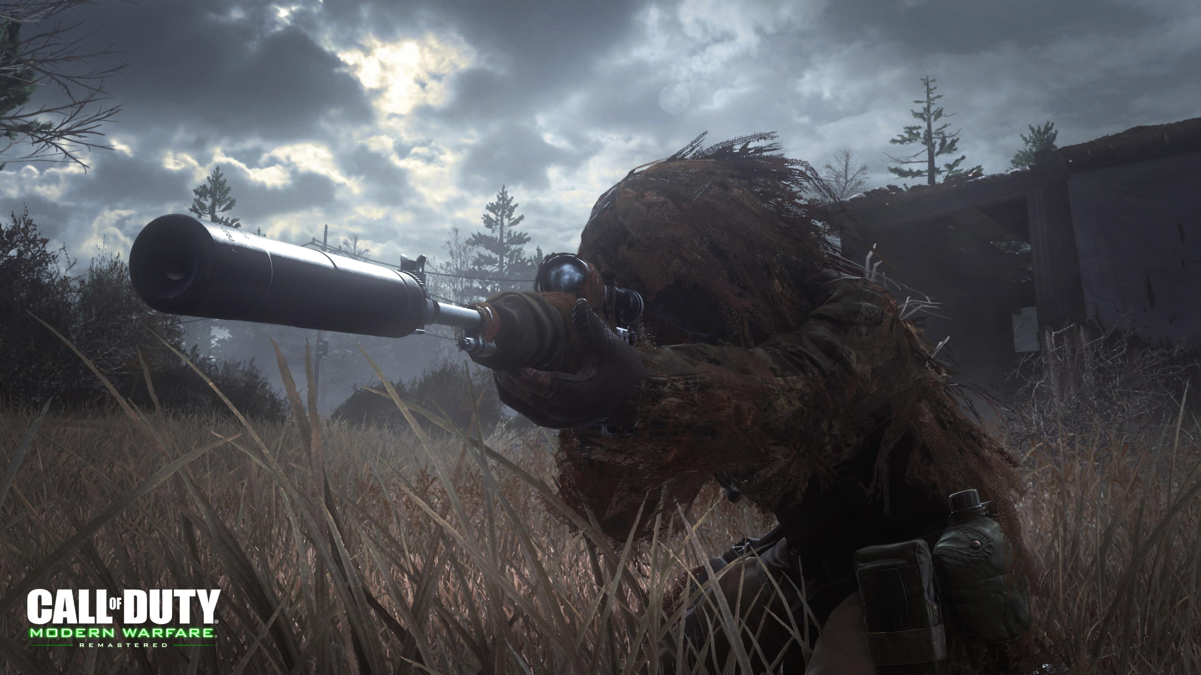 Call Of Duty Modern Warfare Remastered 4k Ultra Fondo De