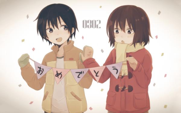 Anime ERASED Kayo Hinazuki Satoru Fujinuma Fondo de pantalla HD | Fondo de Escritorio