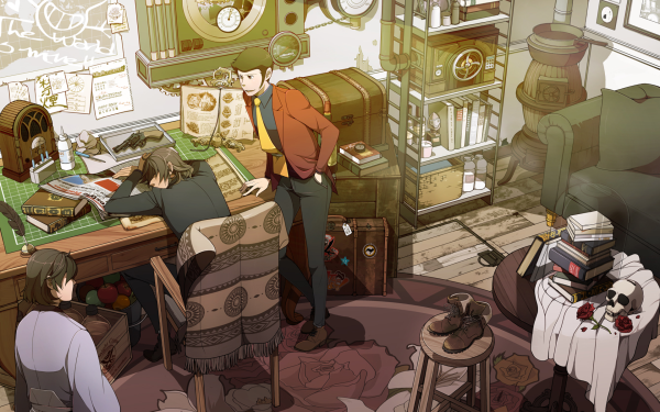 Anime Lupin The Third HD Wallpaper | Background Image