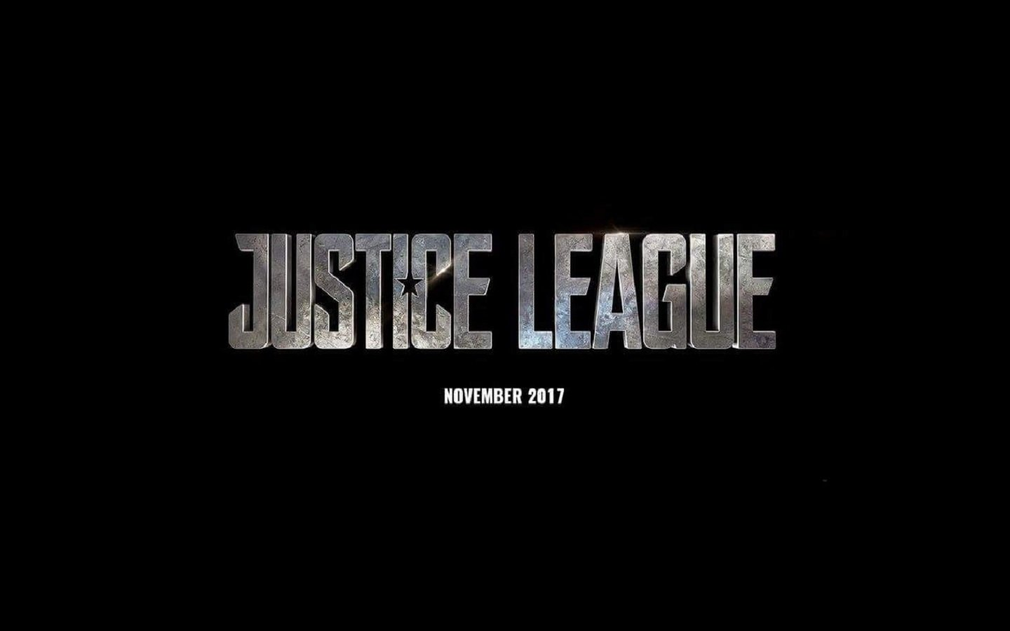 Movie - Justice League (2017)  Justice League Movie Logo Superhero Black Wallpaper