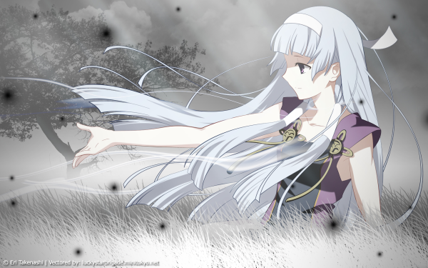 Anime Kannagi: Crazy Shrine Maidens Nagi HD Wallpaper | Background Image