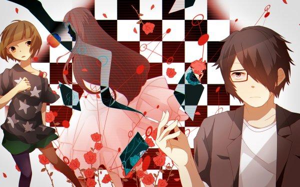 Anime The Perfect Insider Souhei Saikawa Moe Nishinosono Shiki Magata HD Wallpaper   Background Image