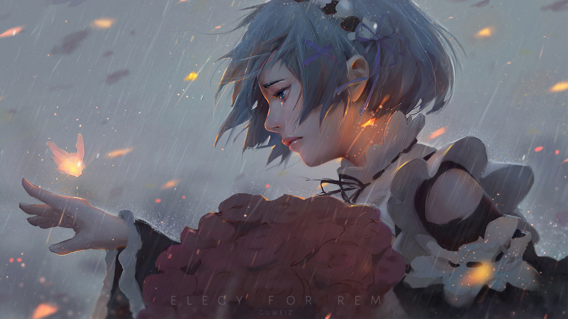 Anime - Re:ZERO -Starting Life in Another World-  Rem (Re:ZERO) Re:Zero Wallpaper