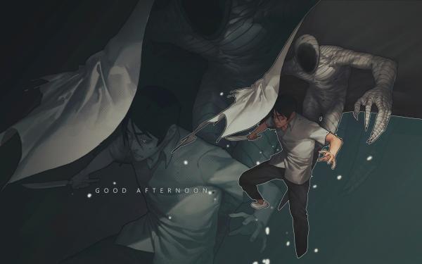 Anime Ajin: Semi-Humano Cuchillo Ghost Fondo de pantalla HD | Fondo de Escritorio