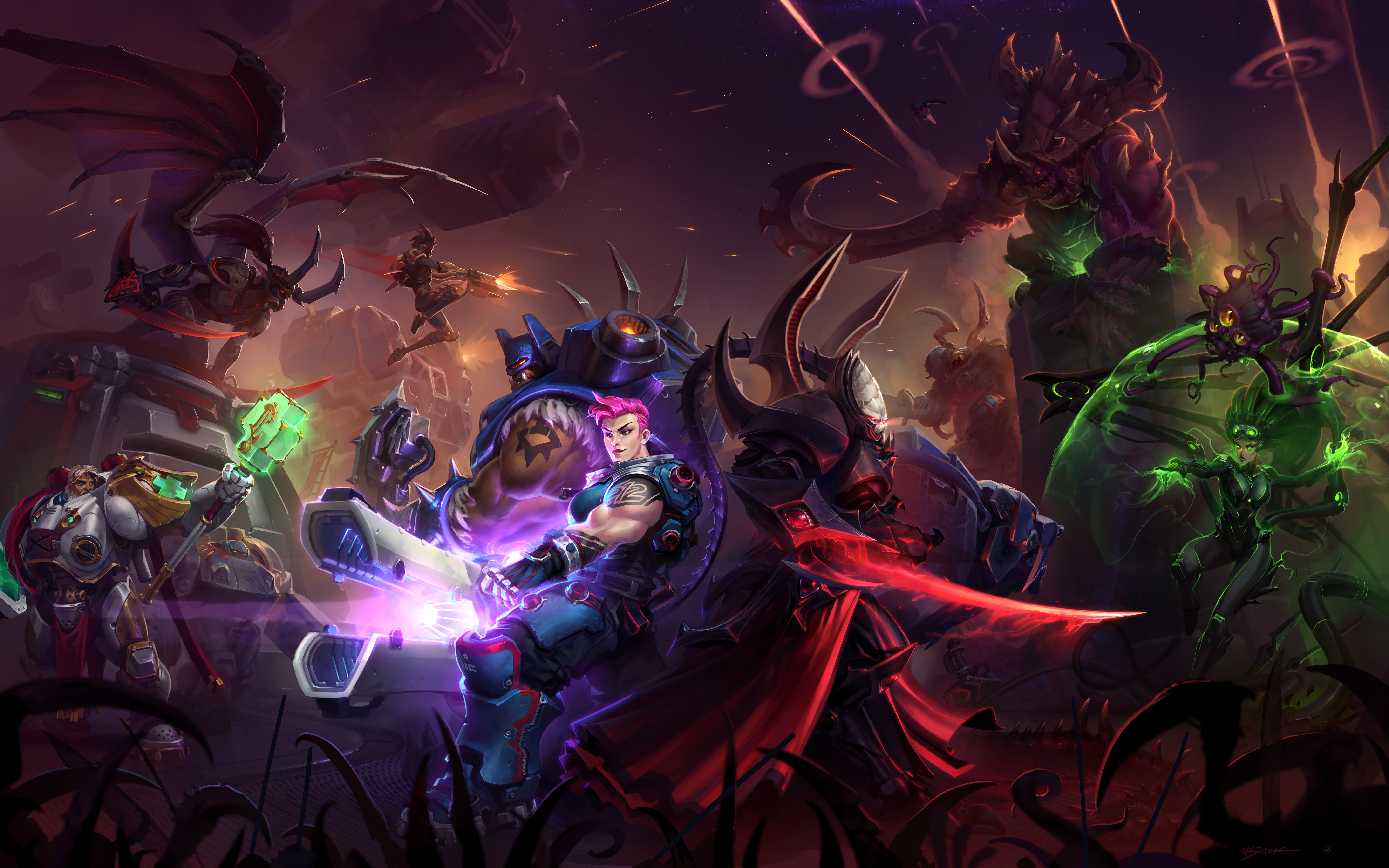 192 Heroes Of The Storm Hd Wallpapers Background Images