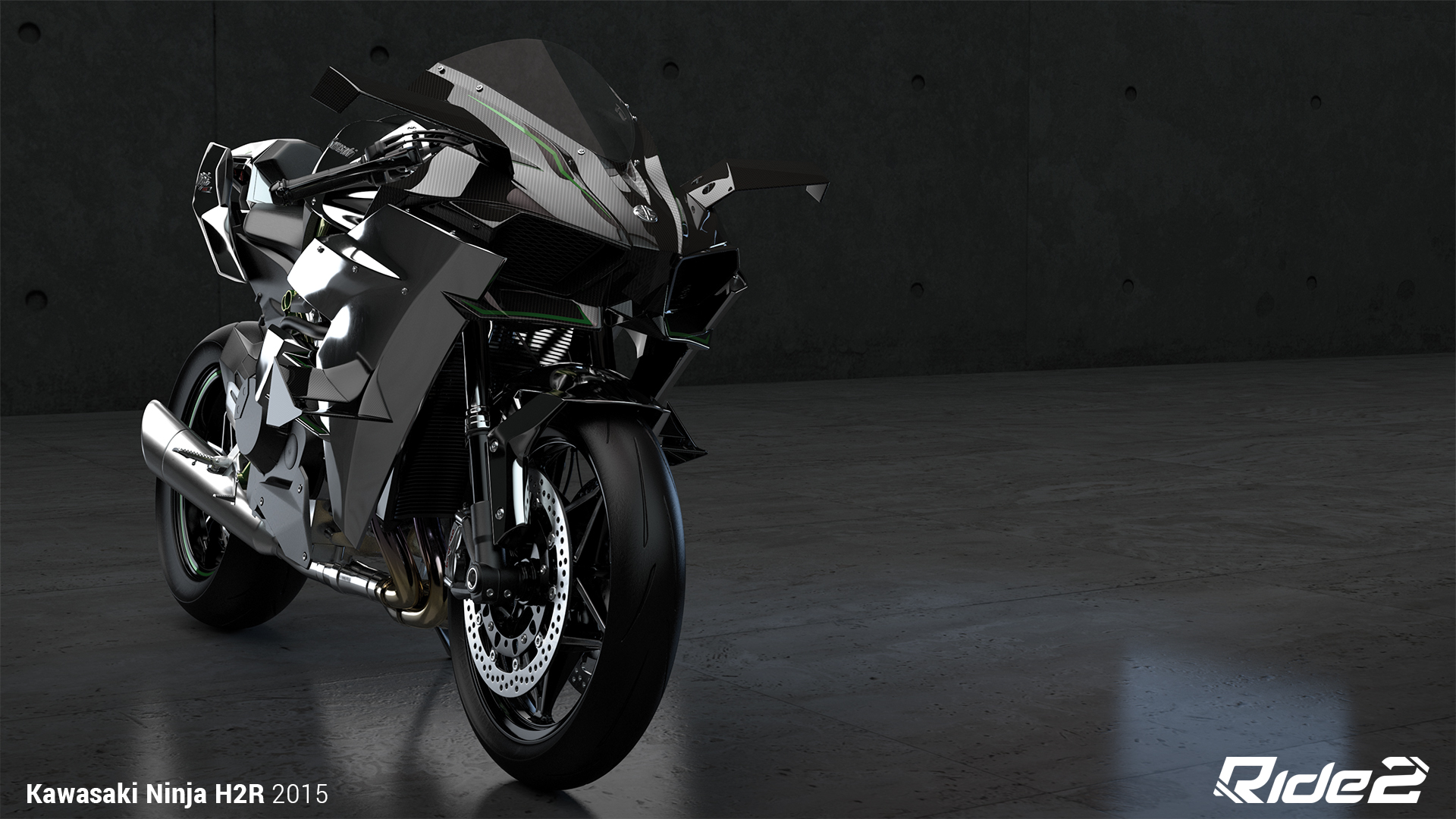2015 Kawasaki Ninja H2r Hd Wallpaper Background Image 1920x1080 Id 727460 Wallpaper Abyss