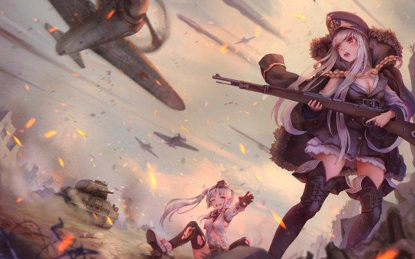 Video Game Girls Frontline HD Wallpaper   Background Image
