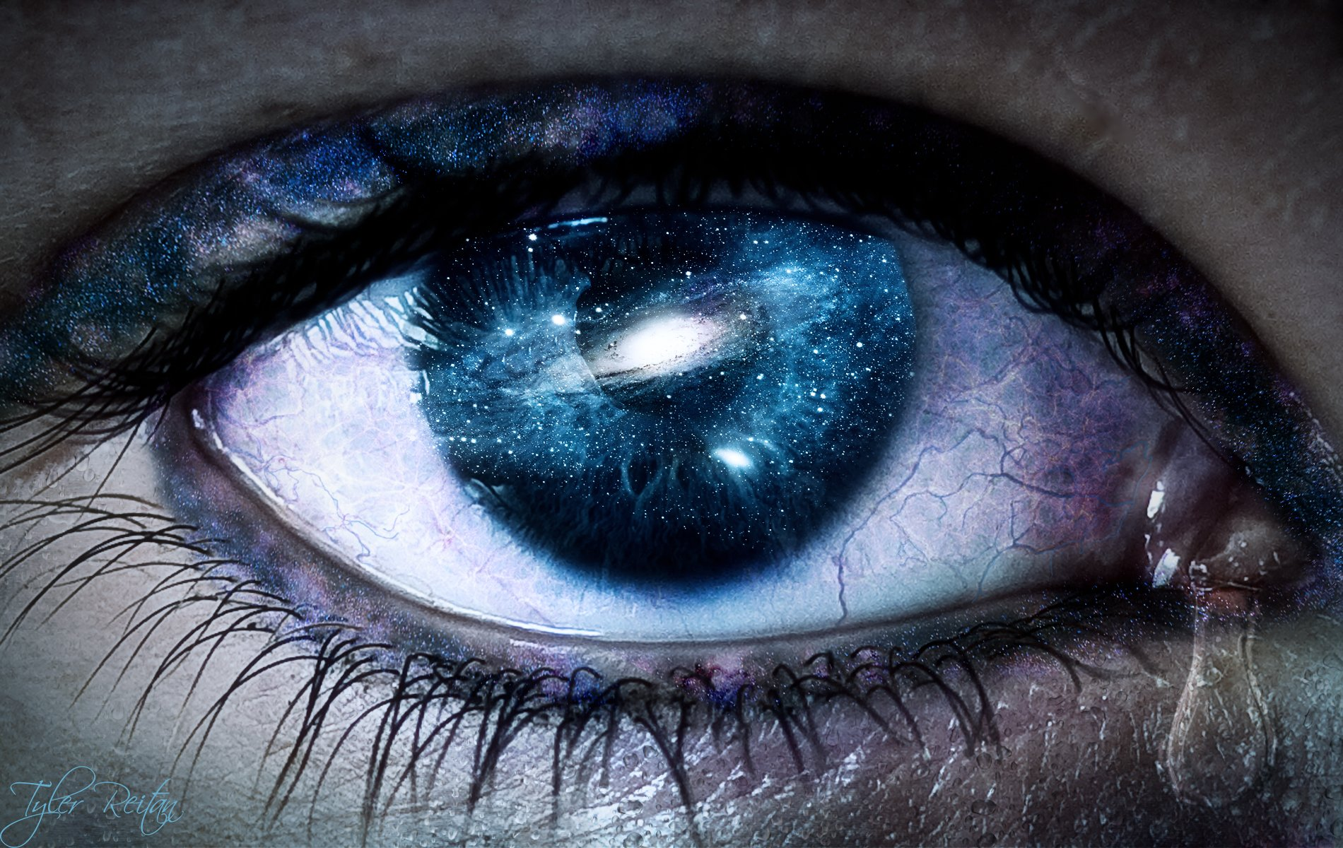 One Tear Wallpaper And Background Image 1900x1200 Id