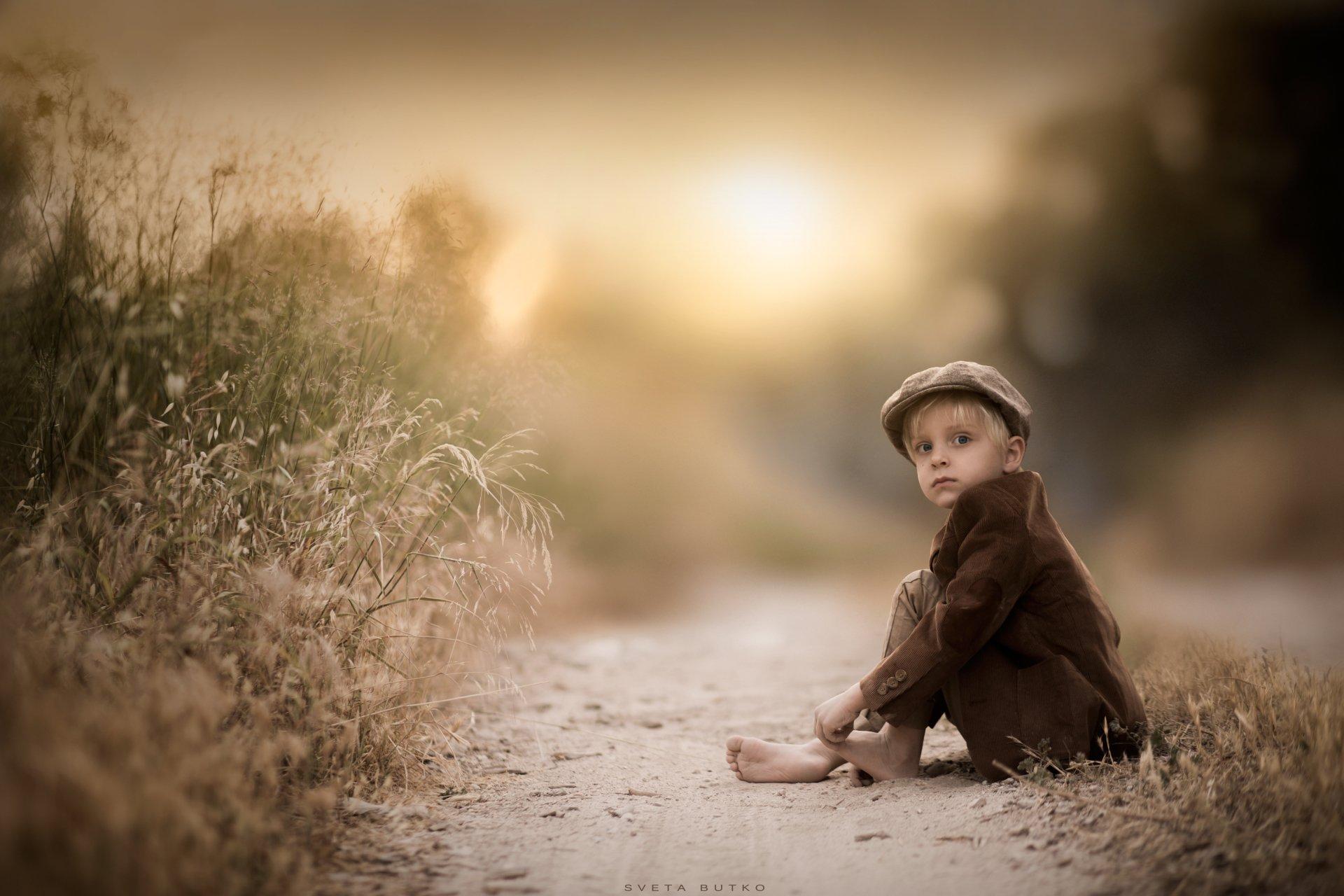 Photography - Child  Hat Boy Little Boy Blur Wallpaper