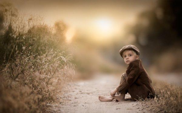 Photography Child Hat Little Boy Blur HD Wallpaper | Background Image