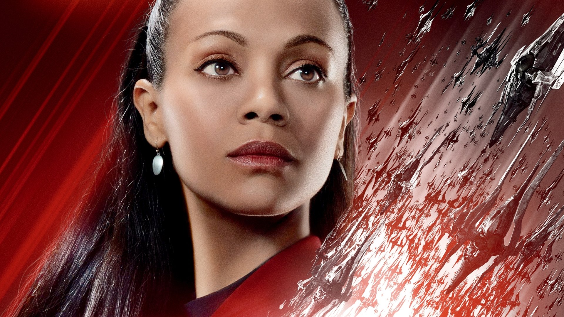 Movie - Star Trek Beyond  Zoe Saldana Nyota Uhura Wallpaper