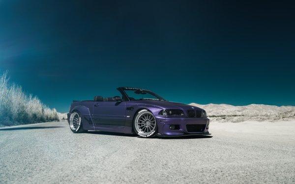 Véhicules BMW M3 BMW Purple Car Voiture Sport Car Fond d'écran HD | Image