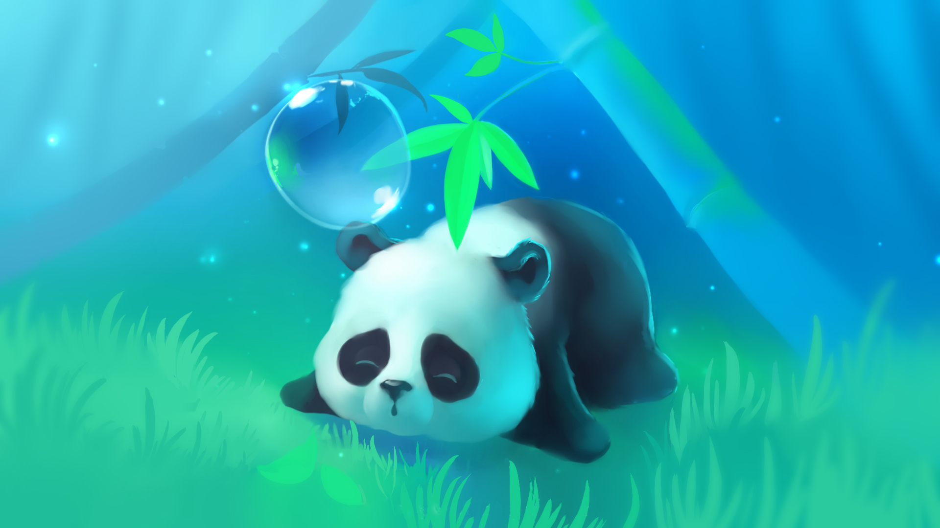 Panda Fond d'écran HD | Arrière-Plan | 1920x1080 | ID:732624 - Wallpaper Abyss