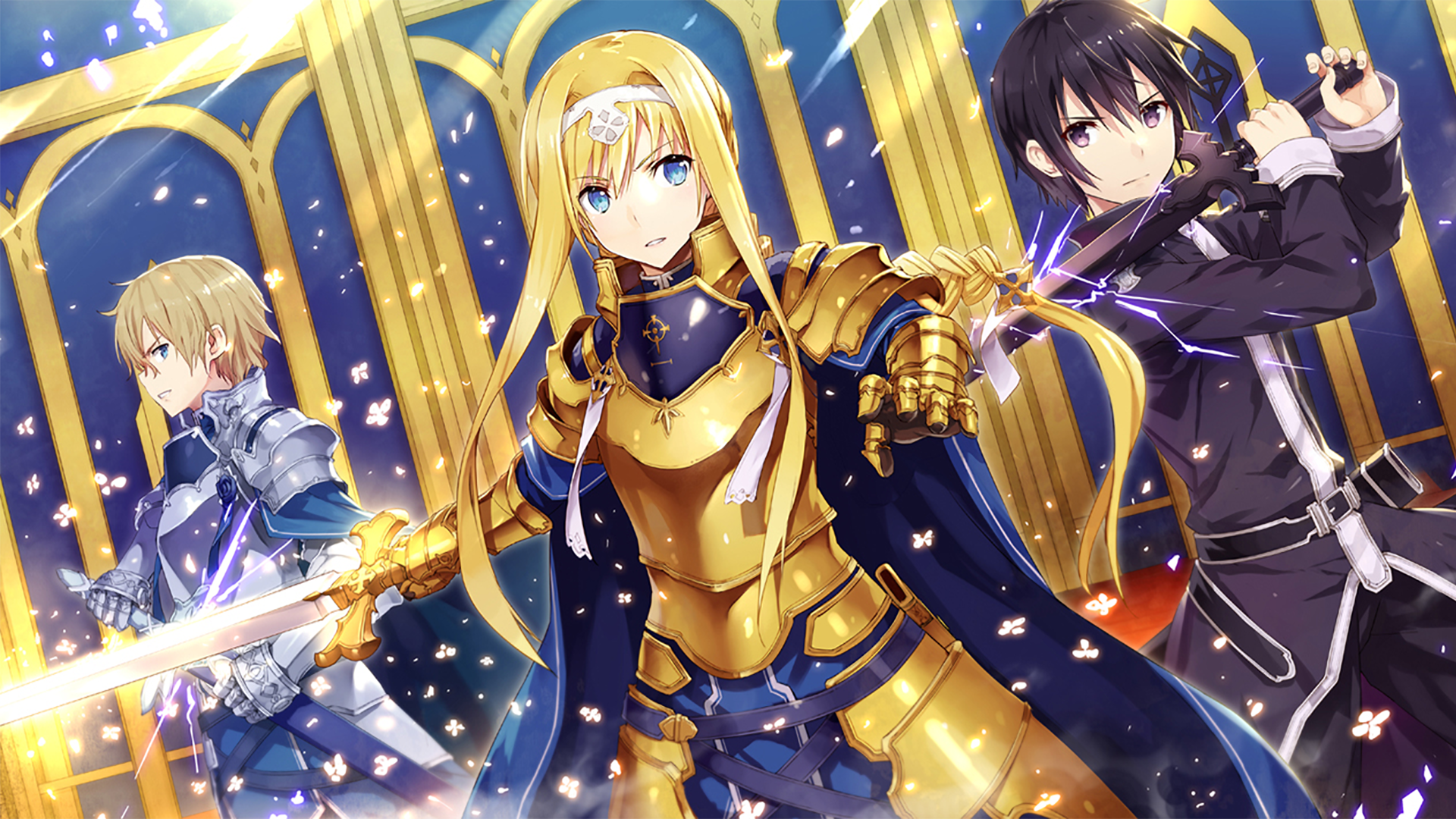 388 Sword Art Online Alicization Hd Wallpapers Background