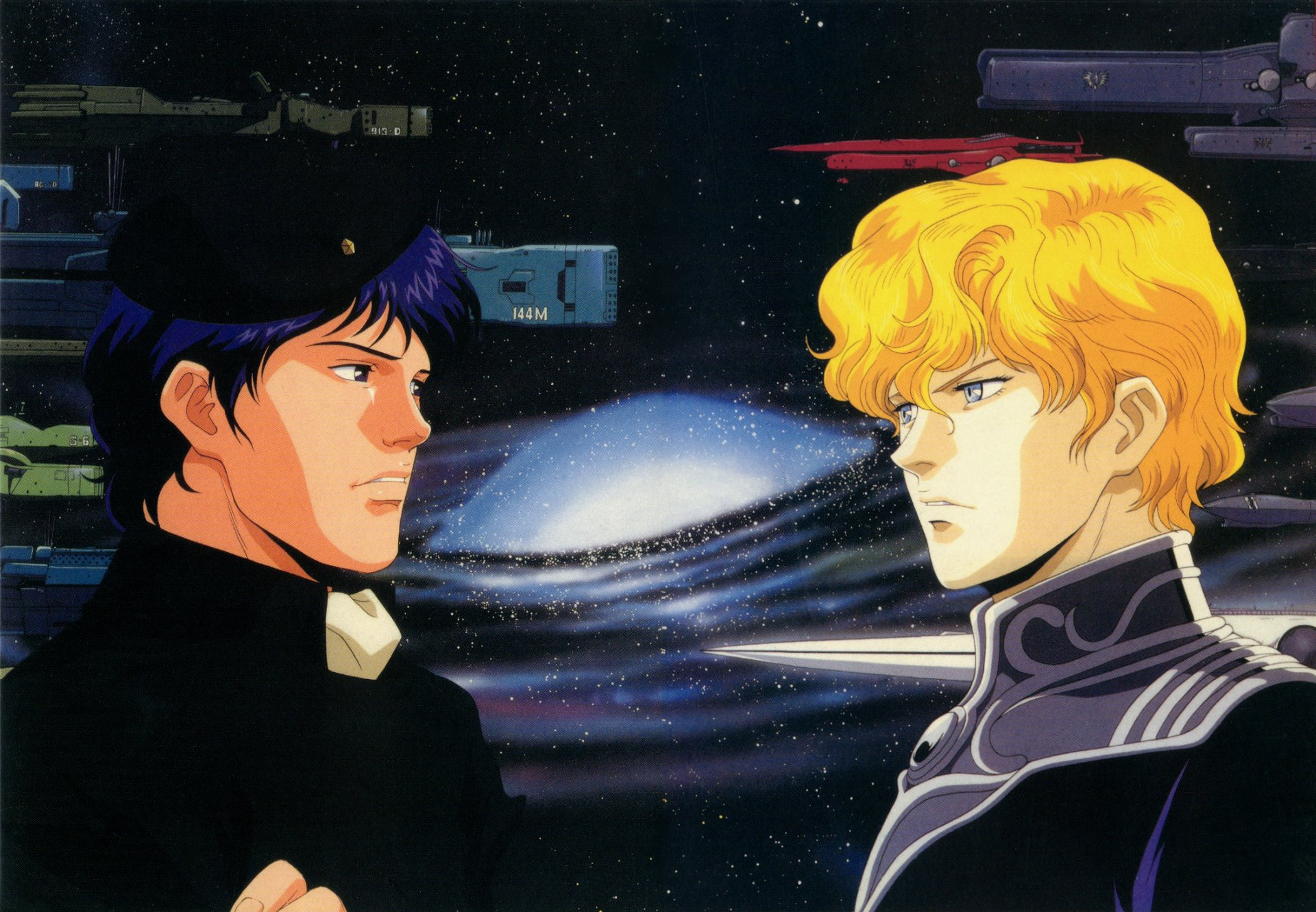 14 Legend Of The Galactic Heroes Hd Wallpapers Background Images