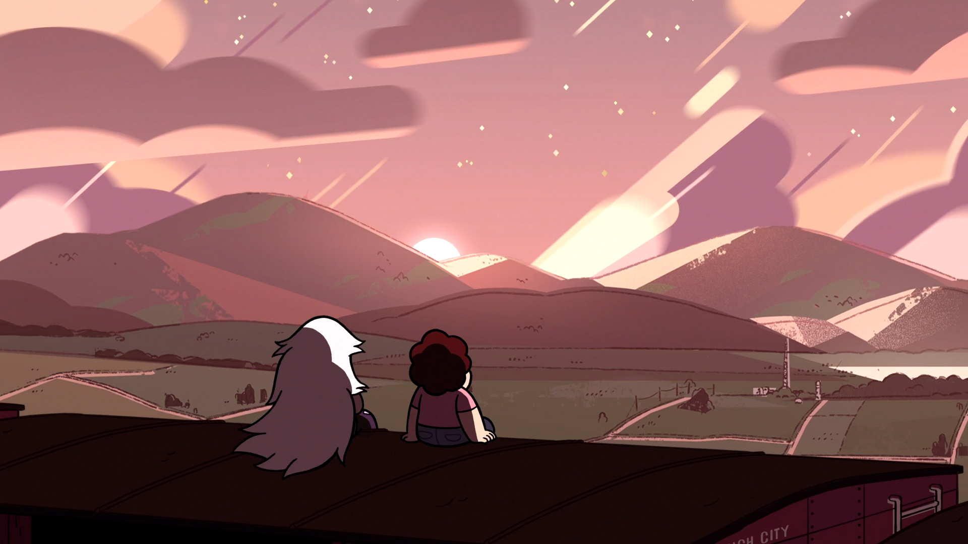 On the run hd wallpaper background image 1920x1080 - Steven universe wallpapers hd ...