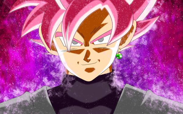 Anime Dragon Ball Super Dragon Ball Black Black Goku SSR Black HD Wallpaper | Background Image