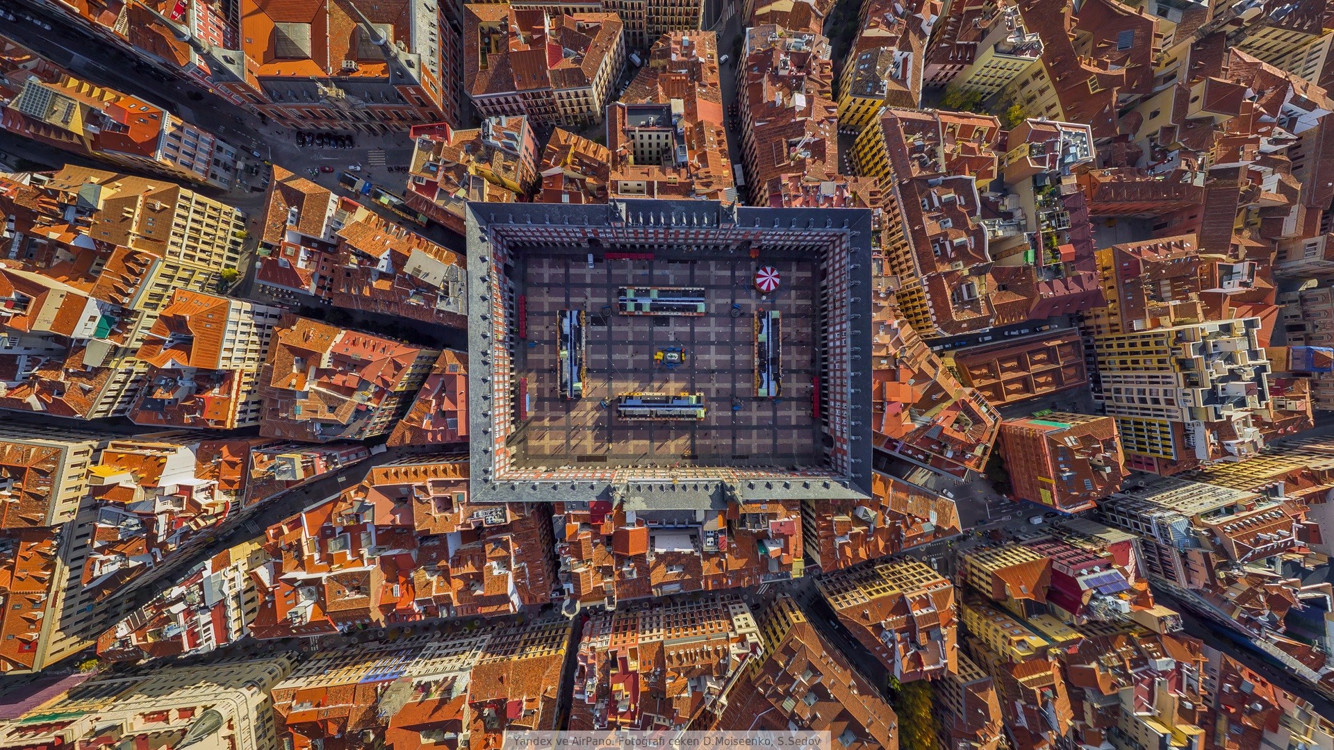 1 La Plaza Mayor Hd Wallpapers Background Images Wallpaper Abyss